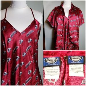 concepts sports Intimates & Sleepwear - NHL Colorado Avalanche Pajama Top with Chemise